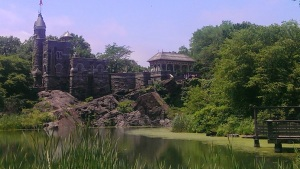 A great writing and chill spot in Central Park.